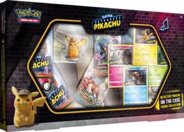 Pokemon TCG Detective Pikachu On the Case Box Figure Collection image 1