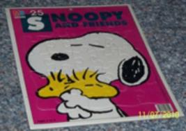 Nip Vintage Milton Bradley P EAN Uts Snoopy Woodstock 11 X 15 Puzzle - $41.20