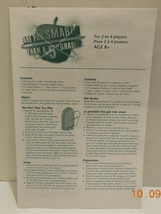 2007 Are You Smarter Than A 5th Grader board Game Replacement Instructions - $9.50
