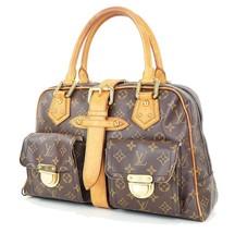 Authentic LOUIS VUITTON Manhattan GM Monogram Hand Bag Purse #34062 - $459.00