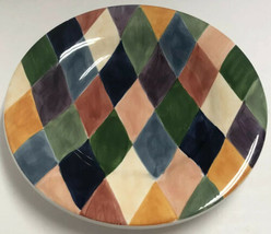 """Carnival Hand Painted Collection Tabletops Unlimited Dinner Plate 11"""" - $9.89"""