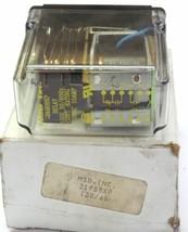 NIB MSD INC. 219BBXP RELAY 120V, 50/60Hz