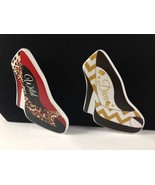 Red Animal Print High Heel Shoes Ceramic Refrigerator Magnets Free Shipping - $7.92