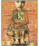 PLAY THE ART of VISUAL JOURNALS Magazine ISSUE #1 2002 MIXED MEDIA Teesh... - $14.84