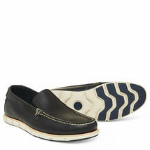Timberland Tidelands Venetian Slip On Leather Shoe for Men in Navy - $178.86 CAD