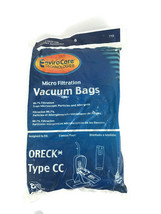 Oreck type CC Micro Filtration Vacuum Cleaner Bags 8 pack Generic  - $12.36
