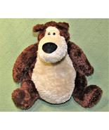 "16"" GUND GOOBER TEDDY BEAR ROLY POLY PLUSH BEAN BAG STUFFED ANIMAL 01528... - $36.47"