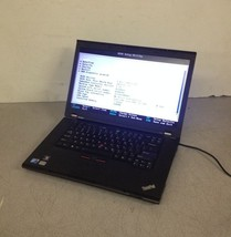"""Lenovo Thinkpad T510 15.6"""" Laptop Notebook Core i5 2.66 Ghz 2 GB No HDD - $150.00"""