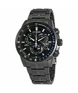 Citizen PCAT Charcoal Grey Atomic Mens Watch AT4127-52H - £264.99 GBP