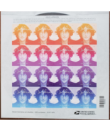 Music Icons JOHN LENNON (1940-1980) - (USPS)  FOREVER STAMPS 16 stamps, ... - $15.95