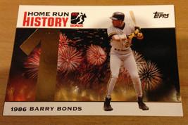 2005 Topps Barry Bonds Hr Home Run History Card #1 Gold Foil!!!! - $9.04