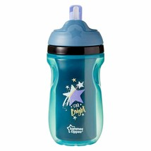 Tommee Tippee Insulated Active Straw Cup 230ml Boy Toddlers Non-Spill Mu... - $6.86
