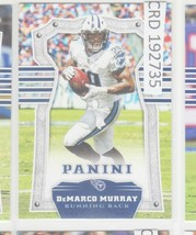 2017 Panini DeMarco Murray RB Tennessee Titans #96 192735 - $1.86