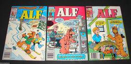 3 1989 Marvel Comics ALF 16, 17, 18 FINE Comic Books Alien Life Form - $11.69