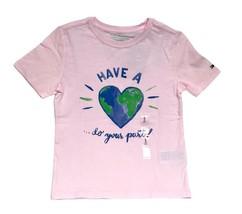 Tommy Hilfiger Kids T-Shirt Girls Baby Pink- S (6-7) - $32.99
