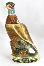 1961 JIM BEAM Genuine Regal China Pheasant Whiskey Decanter Empty - $59.35