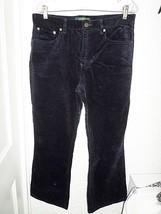 Ralph Lauren Blue Corduroy J EAN S Misses 12 Short Petite - $11.65