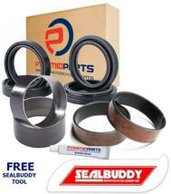 Fork Seals Dust Seals Bushes Suspension Kit for Suzuki DRZ250 Pumper Carb 01-07 - $44.03
