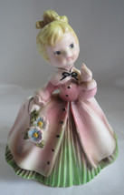 1962 Inarco E871 Cute Little Blonde Ponytail Blue Eyed Girl Lady Figural... - $7.76