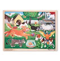 Melissa & Doug Pets Wooden Jigsaw Puzzle - 24 Pieces - $9.89