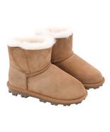 NEW Kirkland Signature Kid's Shearling Boot, Brown SELECT SIZE **FREE SH... - $32.99