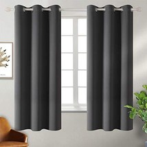 BGment Blackout Curtains - Grommet Thermal Insulated Room Darkening Bedr... - $25.58