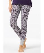$45 Alfani Printed Pajama Leggings, Created for Macy's, Winter Leaves, 2XL. - $19.79
