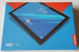 """Lenovo TAB4 10"""" Black Slate Brand New Sealed Box Never Used ZA2J0007US - $299.91"""