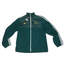 NWT NEW Baylor Bears Adidas 3-Stripe Mid Weight Zip Up Green Men's Jacke... - $32.51