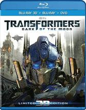 Transformers: Dark of the Moon [3D + Blu-ray + DVD]