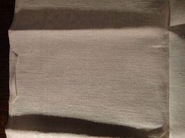Large vintage antique Irish linen damask hand towel Celtic clover tea dish 40X17 image 12