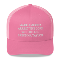 Make America Arrest The Cops Hat / Make America Arrest The Cops / Trucker Cap image 12