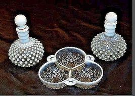 Milk Glassware AB 734 Vintage 3Pc image 5