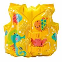 Intex 59661EP Swim Vest Child's Tropical Fish Inflatable Pool Jacket Age... - $9.89