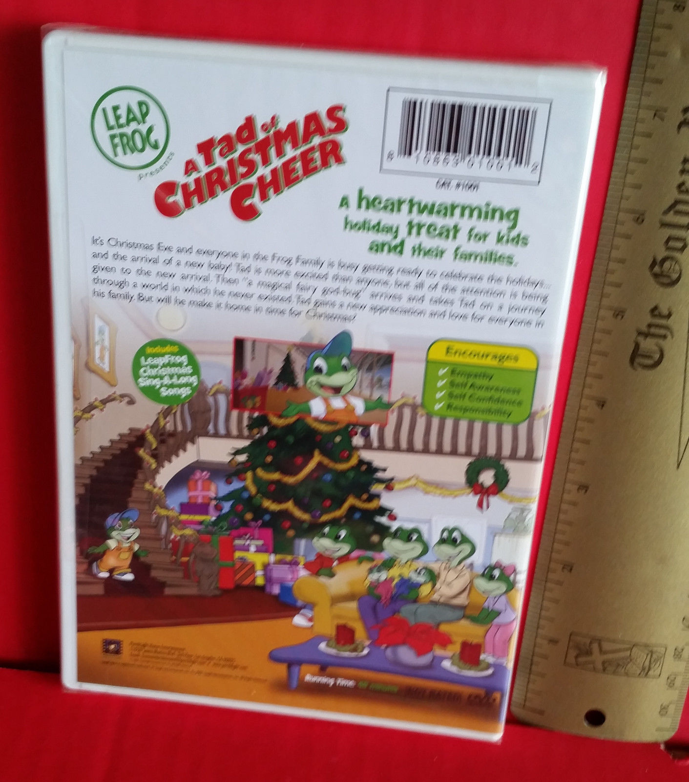 Leapfrog A Tad Of Christmas Cheer Dvd.Education Holiday Video Dvd A Tad Of And 11 Similar Items