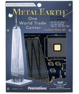 Metal Earth New York City Collection Five 3D Puzzles Micro Models  - $44.54