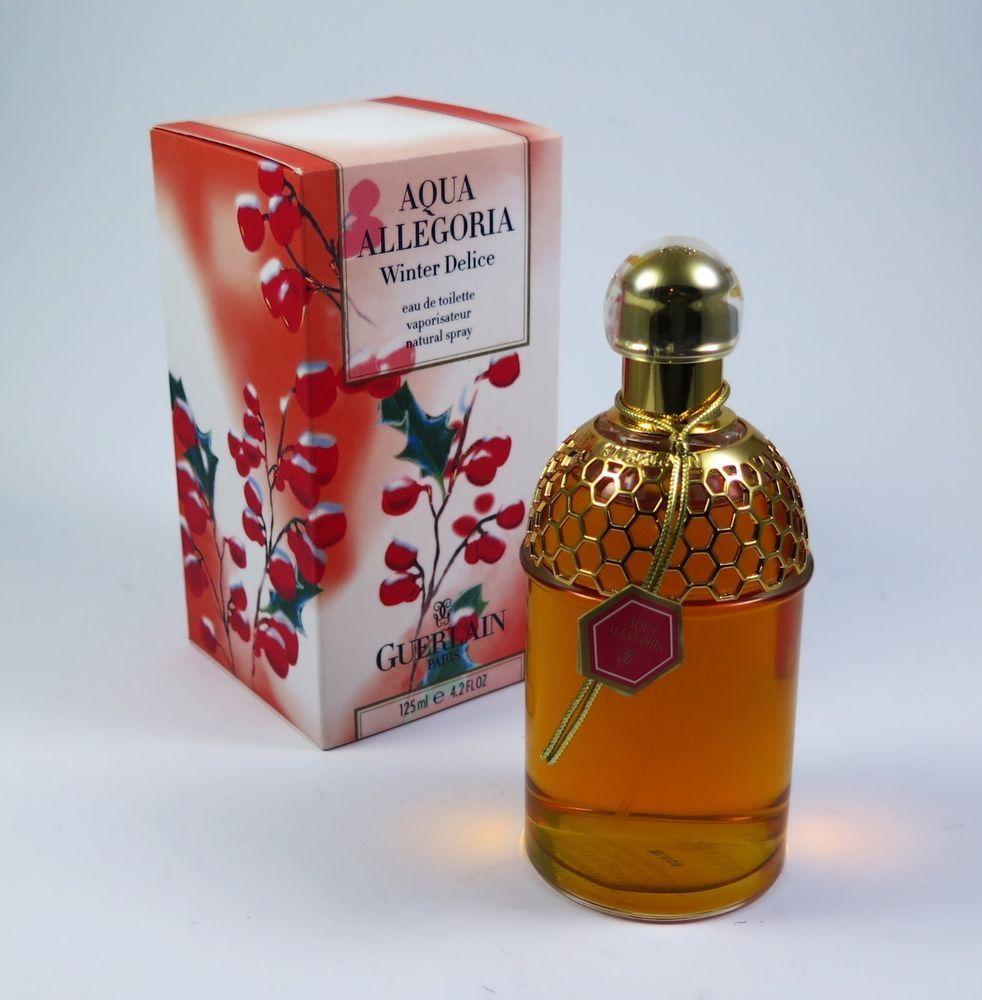 Aaaaguerlain aqua allegoria winter delice 4.2 oz perfume