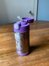Disney Frozen Elsa and Anna Thermos Water Bottle Insulated Stainless Steel - $8.60