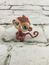 Hasbro Littlest Pet Shop Monkey #485 LPS Brown Tan - $6.92