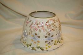 Home Interiors Wildflower Romance Candle Shade Homco - $10.00