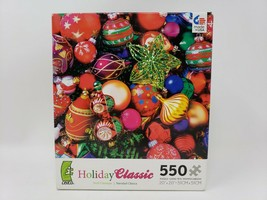 Ceaco Holiday Classic 550 Pc Jigsaw Puzzle - Noël Classique - New - $16.99