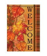 """Cascading Leaves Fall Garden Flag-2 Sided Message,12"""" x 18"""" - $21.99"""