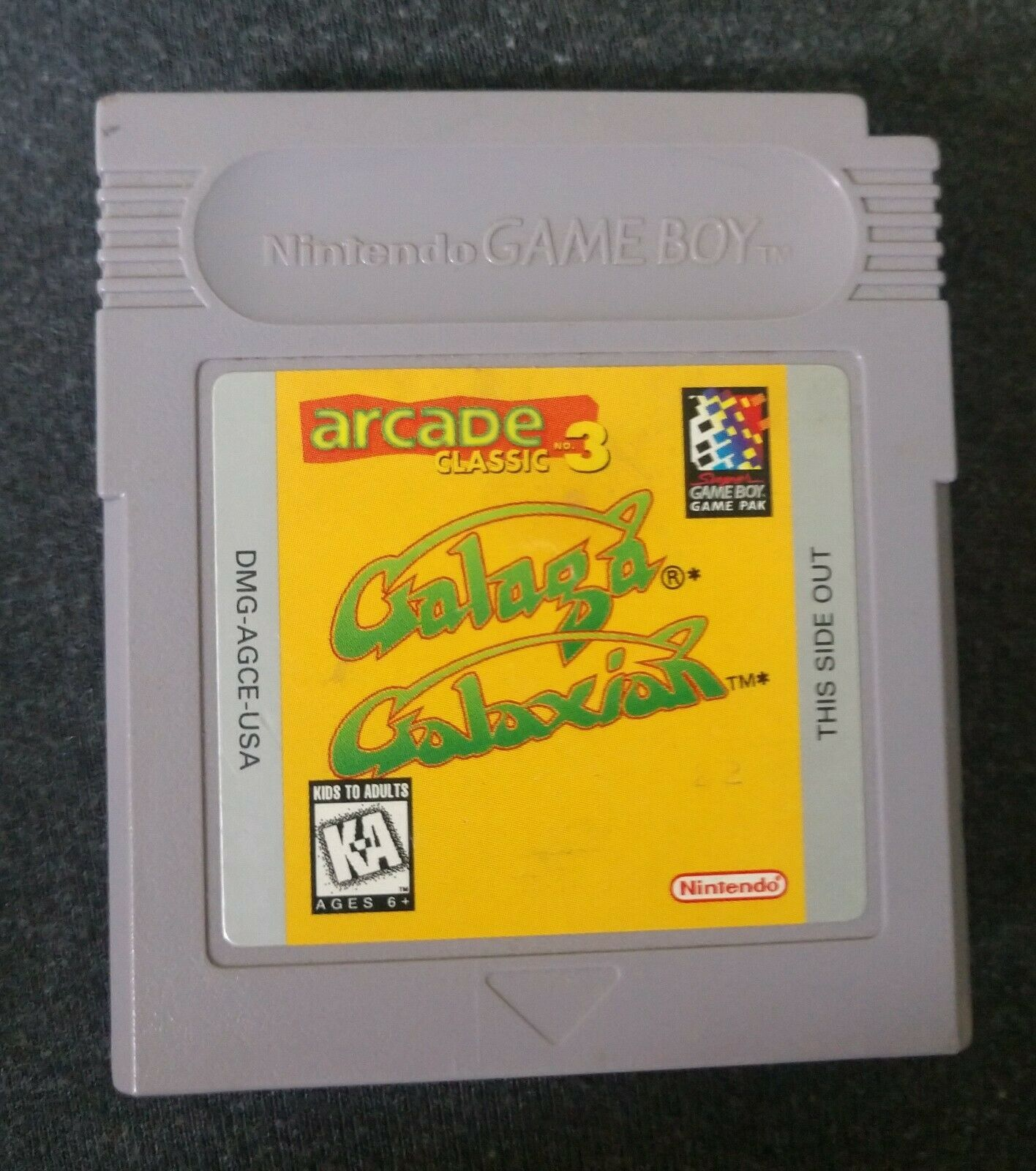 Arcade Classic 3 - Galaga & Galaxian - Nintendo Game Boy