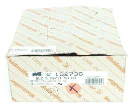 LOT OF 40 NEW WEIDMULLER 152736 CONNECTORS BLZ 5.08/11-SN-OR BLZ5.0811SNOR image 3