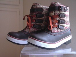 UGG Australia Women Boots Lace Up Size 5 Decatur Auburn Chocolate EURO 36 New - $67.32