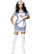 NURSE NAUGHTY COSTUME, HOSPITAL FANCY DRESS, UNIFORMS, MEDIUM 12-14, WOMENS - $33.31