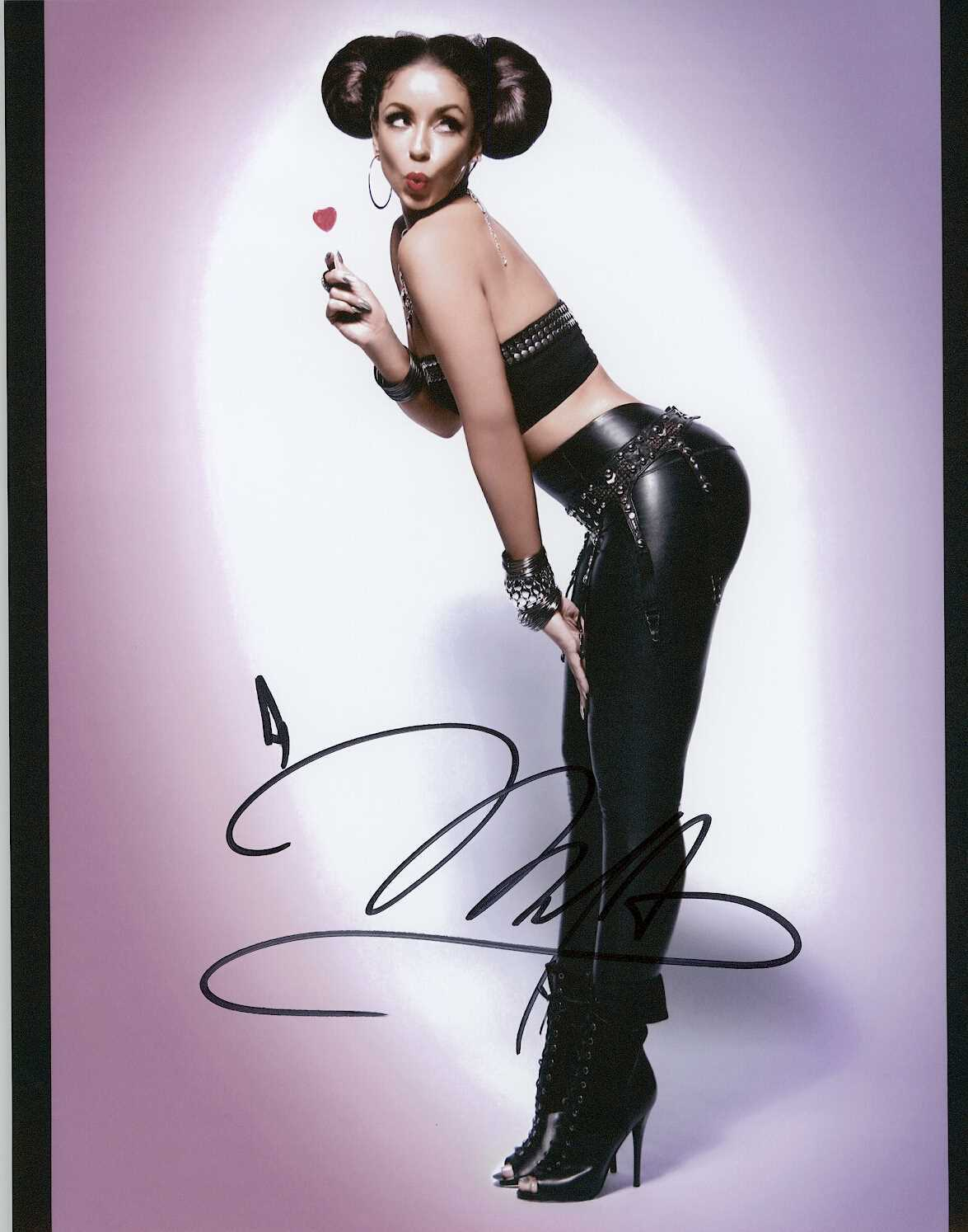 Primary image for Mya Signed Autographed Glossy 8x10 Photo