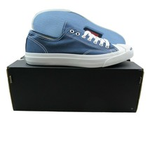Converse Jack Purcell CP OX Canvas Shoes Size 9 Mens Navy Blue White 1Q8... - £42.98 GBP