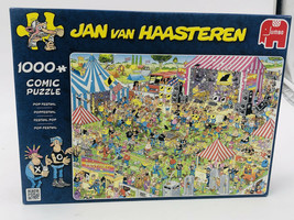 Jan van Haasteren POP FESTIVAL 1000 piece jigsaw puzzle - - $33.00