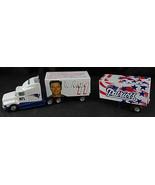 New 1998 NFL Drew Bledsoe #11 Patriots White Rose Ford Aeromax Semi Truck - $40.00